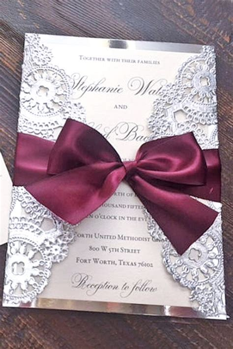 Wedding Invitation Idea by 40 Unique And Modest Wedding Invitation Card Ideas