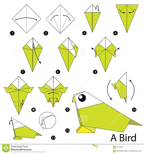 Origami Bird Step By Step - origami bird apexwallpapers