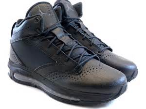 nike city air max black gray work sneakers boots