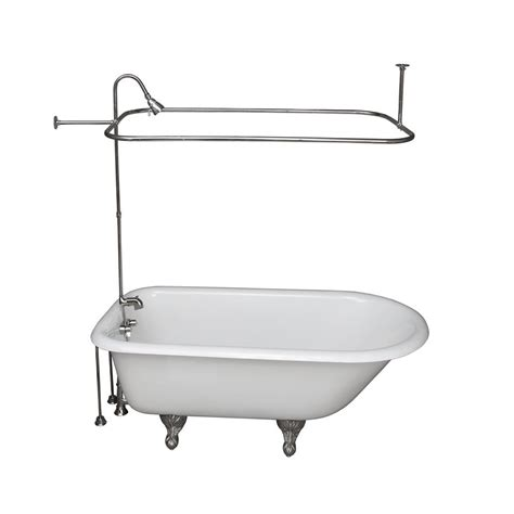 ball and claw bathtub barclay products 5 ft cast iron ball and claw feet roll
