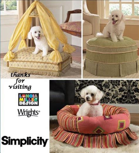 dog bed patterns dog bed sewing pattern fancy bed for pered pets oop