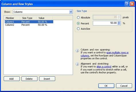 Table Layout Panel Nedir | table layout panel in c