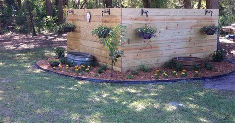 pretty backyard landscaping  hide  pump