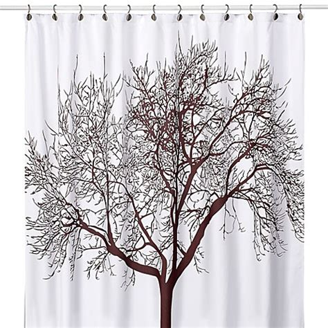 tree shower curtain tree brown 70 inch x 72 inch fabric shower curtain