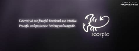 scorpio zodiac sign facebook cover awesome dps for