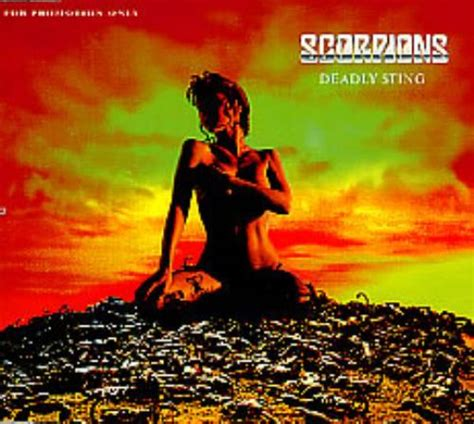 Deadly Sting the scorpions deadly sting promo cd album cdlp 175833