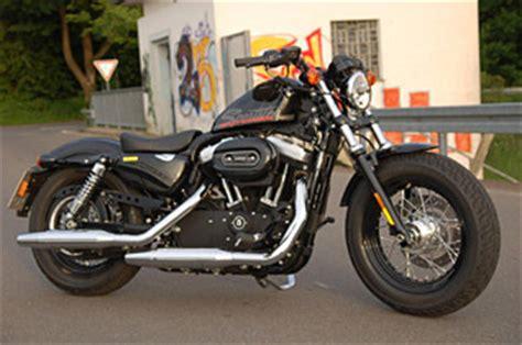 48 Ps Motorrad Geschwindigkeit by Harley Sportster 48 Testbericht