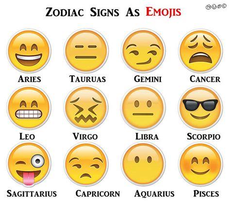 zodiac sign if zodiac signs were emoji zodiac taurus and emoji
