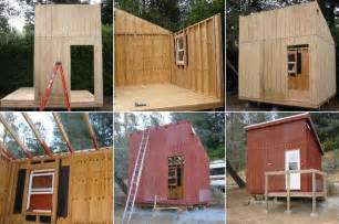 plans for building a cabin mini cabin plans tiny house design
