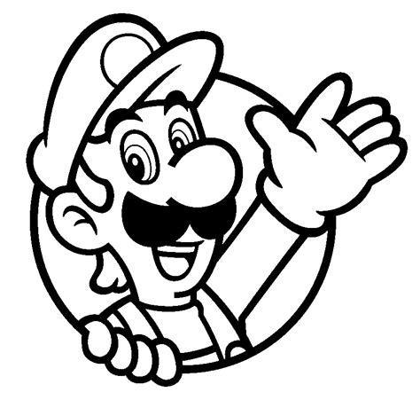 super paper mario coloring pages