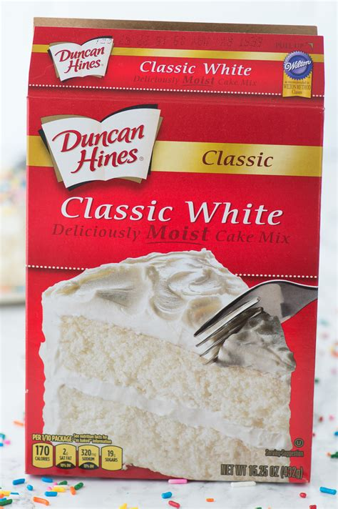 Mixing White Doctored Up White Cake Mix The Year