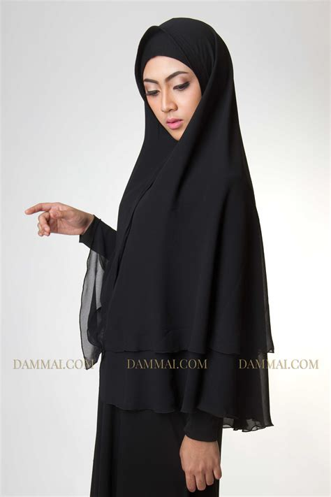 black syar i jilbab dammai