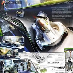 Electric Car Design Challenges La Design Challenge 2013 Roewe Mobiliant Concept Car