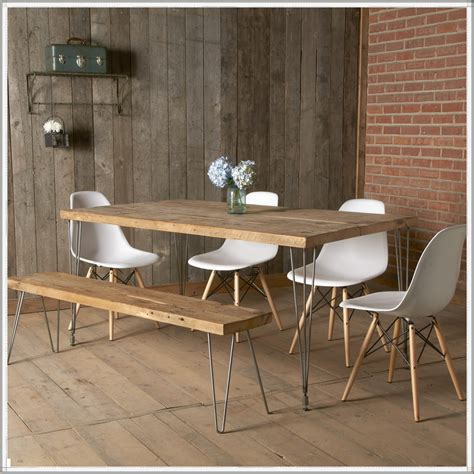 diy dining room table metal legs furniture yellow kitchen with additional reclaimed wood dining table metal legs room diy