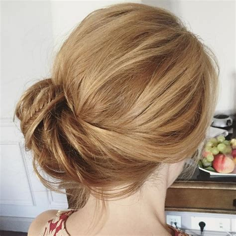 Wedding Hairstyles Side Buns by Side Updos That Are In Trend 40 Best Bun Hairstyles For 2018