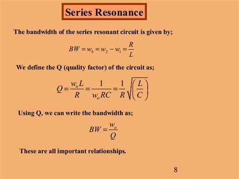 calculate the quality factor q of the inductor at this resonant frequency resonant circuits