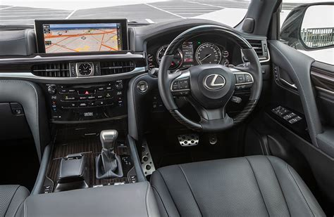 lexus lx 2019 interior lexus present new lx 570 s machine