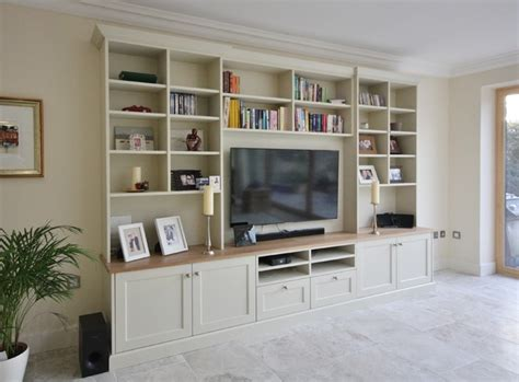 Houzz Living Room Tv Units Alcove Tv Units Traditional Living Room Other