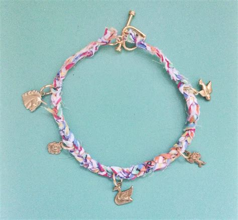 Pondicherie ? Liberty of London Braided Charm Bracelet