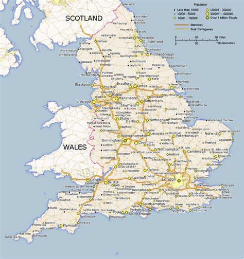 printable maps england map of england england edu