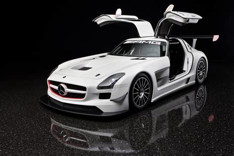 2011 mercedes sls amg gt3 gullwing doors eurocar news