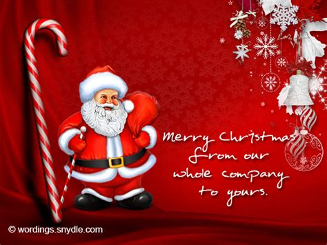 christmas greeting company messages for business wordings and messages