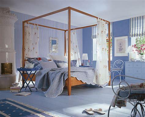 landhaus design tapete aequivalere - Dekorieren Eines Blauen Schlafzimmers