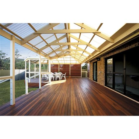 softwoods 4 8 x 3 8m pre cut gable attached pergola kit