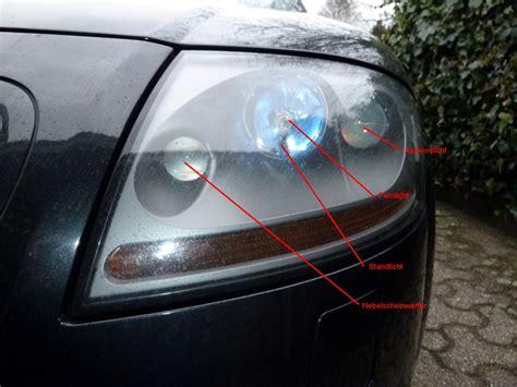 Beleuchtung Auto Vorne by Beleuchtung Frontscheinwerfer Leuchtmittel Wechseln