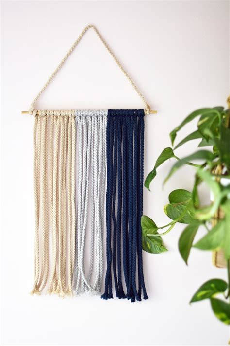 Diy Macrame - an empty wall s best friend diy macram 233 wall hanging