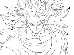 Goku Ssj2 Coloring Pages Coloring Pages Goku Coloring Page