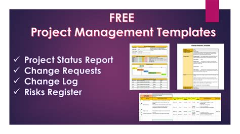 project templates free project management templates 20 free downloads