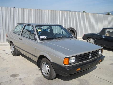 volkswagen fox 1989 1989 volkswagen fox with 1 300 miles german cars for