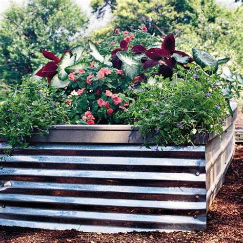 corrugated metal garden beds pin by ᑕᕼᗴᖇᖻᒪ ᗷᖇᗴᗰᗴᖇ on a bed for the night pinterest
