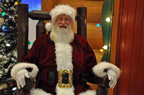 a large sitting santa sitting santa claus by teresa blanton