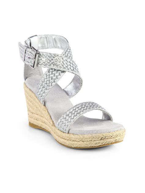 Sandal Deo 3 Marc Stuart Shoes stuart weitzman espadrille wedge sandals in