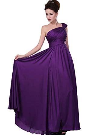 edressit einfach elegant lila abendkleid gr  amazon