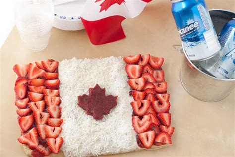 Oh Canada The For And Against Made In Canada - canada day dessert pizza healthful pursuit