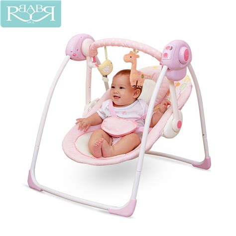 can a newborn sleep in a swing overnight babyruler electric baby swing chair bouncer music rocking