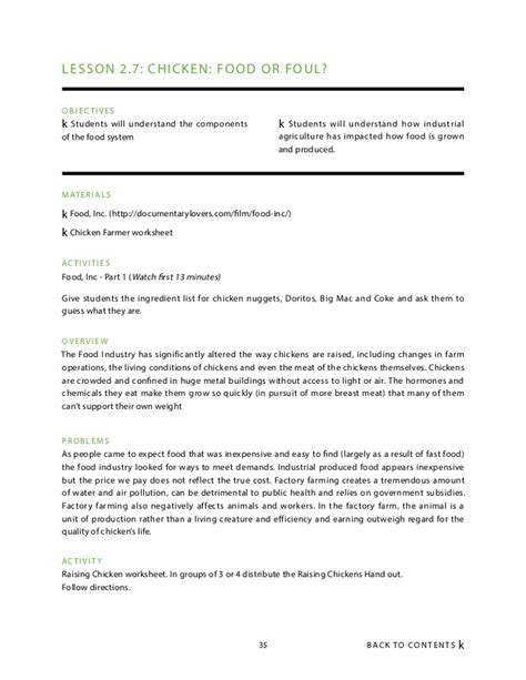 Answers To Food Inc Worksheet by Food Inc Worksheet Photos Getadating