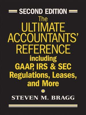 Irs Section 83 by The Ultimate Accountants Reference By Steven M Bragg