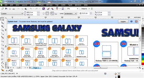 Merk Hp Samsung Note 7 pola cutting skin hp smartphone tablet dan laptop jual