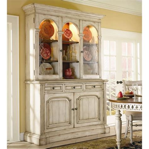 Antique White Hutch Buffet summerglen 62 inch buffet and hutch in antique white 479 75 900 901 kit