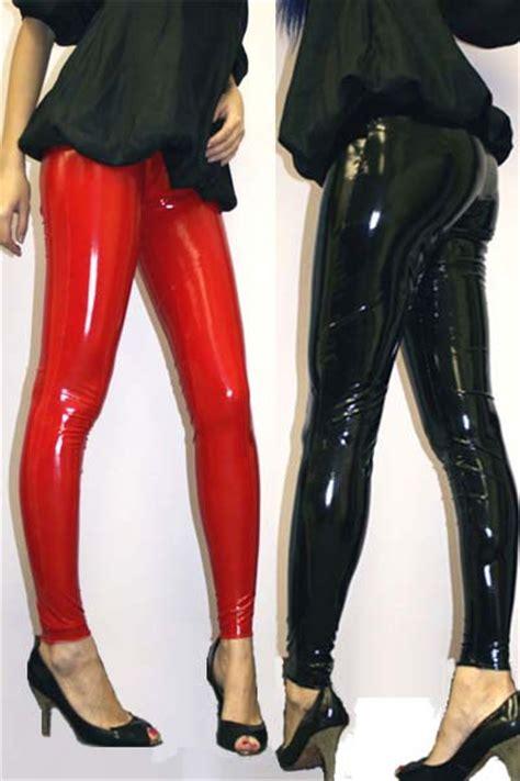look legging in vinyl clothing women free shipping womens plus size sexy black wet look pvc