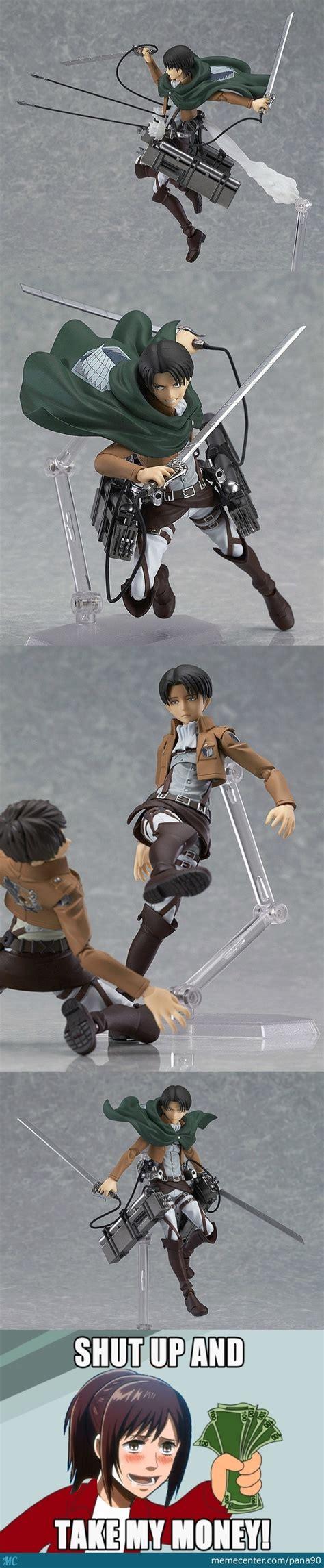 Meme Figurines - shingeki no kyojin figurines credit to zain mustafa 399