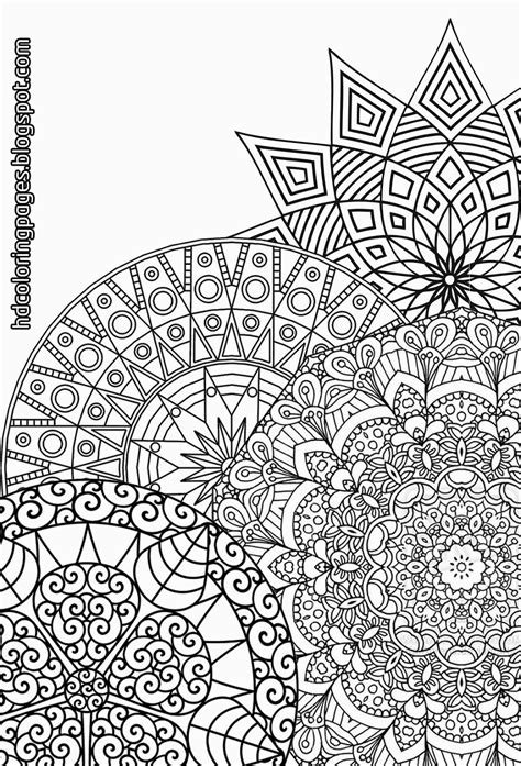 detailed coloring pages for adults detailed mandalas coloring pages for