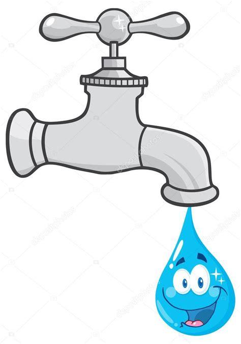 Kitchen Faucet Dripping Water by Torneira De 225 Gua Com O Personagem De Desenho Animado De