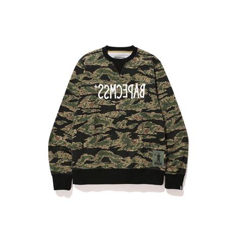Sweater Camo 20 tiger camo bape cmss crewneck sweater madness