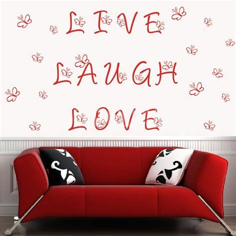 live laugh wall stickers wall decals live laugh wall words wall stickers