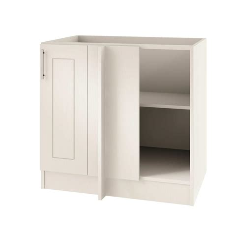 blind corner base cabinet hardware weatherstrong assembled 39x34 5x24 in palm beach island